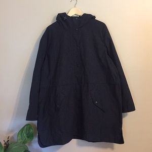 Old Navy—NWT Water Resistant Navy Anorak—XXL